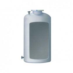 Cisterna Agua Potable 6000 Lit Vertical Fondo Plano Enterrar