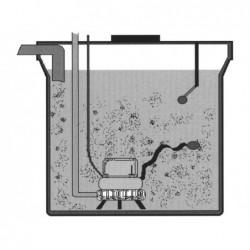 Pozo De Bombeo Aguas Sucias 3700 Lts.