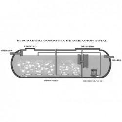 Depuradora Compacta Oxidacion Total 5000 Lts.