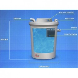 Separador Hidrocarburos Modelo Coalescente 4200 Lit Formato...