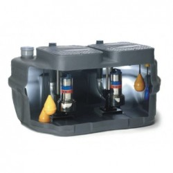 Estacion De Bombeo Agua Residual Doublebox Plus Domo 15Vxt Fp 3 X...