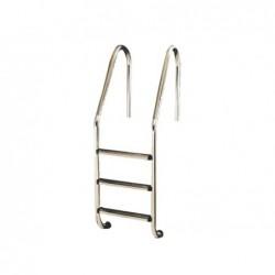 Escalera Standard 3 Peldaños Aisi 304 Mod. Nsl3C
