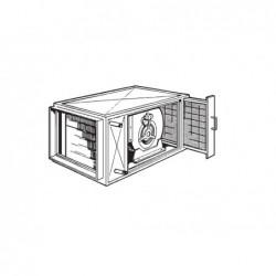 Climatizador Agua Caliente Horizontal 13500 Kcal. Ga-13