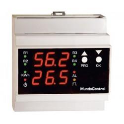 Centralita Solar Mundocontrol Rdmu/5/K/R Con Contador Kwh Y Reloj