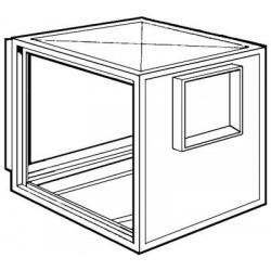 Caja De Ventilacion Modelo Sin Ventilador Bd 25/25