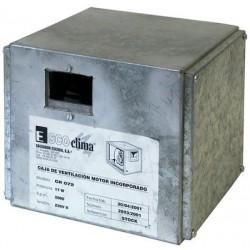 Caja Ventilacion Mini Cr 072  Motor(W) 17