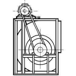Ventilador Simple Aspiracion  Reforzado 30/14 De 5,5Cv