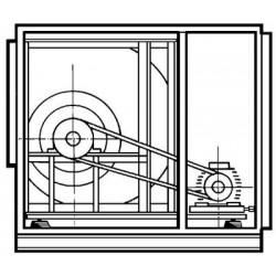 Caja Ventilacion Reforzada Bs 68/68 De 15 Cv