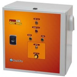 Cuadro Metalico 'Fire/Co Set' + Programador Tri/Tri 7,5Kw (18A)